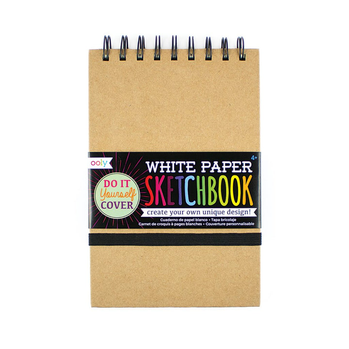 OOLY DIY Cover Sketchbook - White Paper (small)