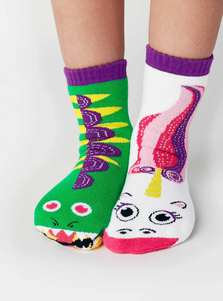 Pals Kids Socks - Dragon & Unicorn (4-8 yrs)