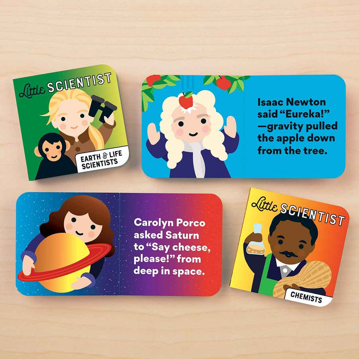 Little Scientist Board Book Set of 4a - sample