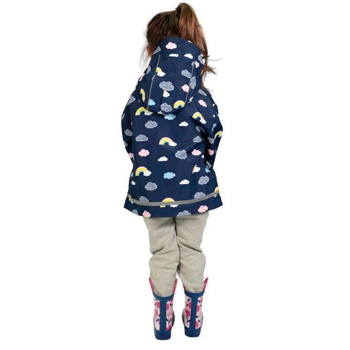 Infant Rainbow Waterproof Rain Jacket