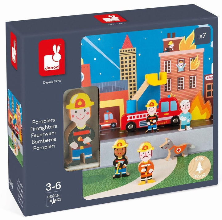 Janod Firefighter Story Set