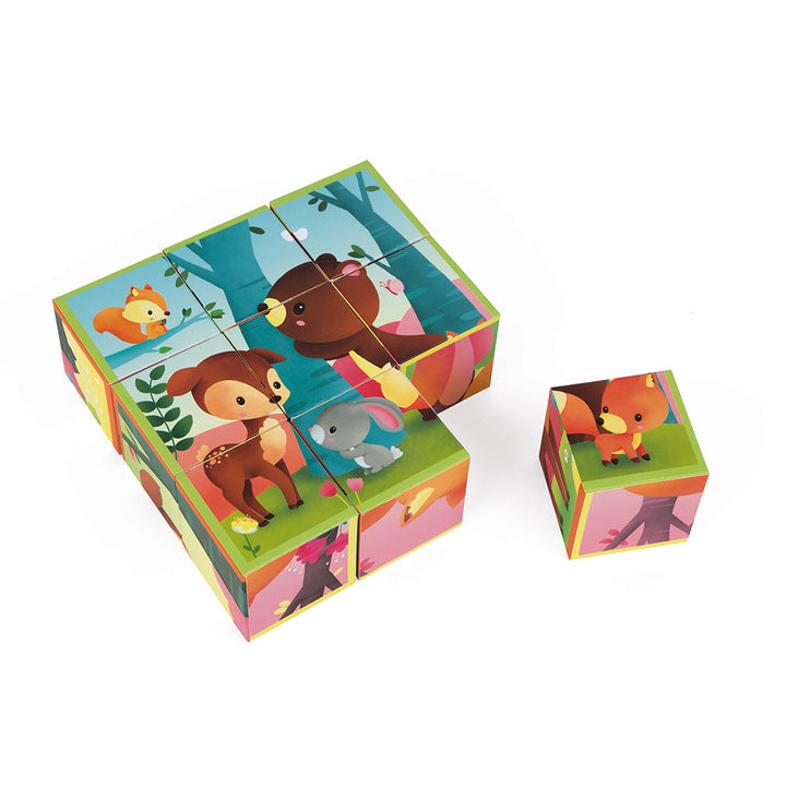 Kubkid Infant Blocks - Forest Animals