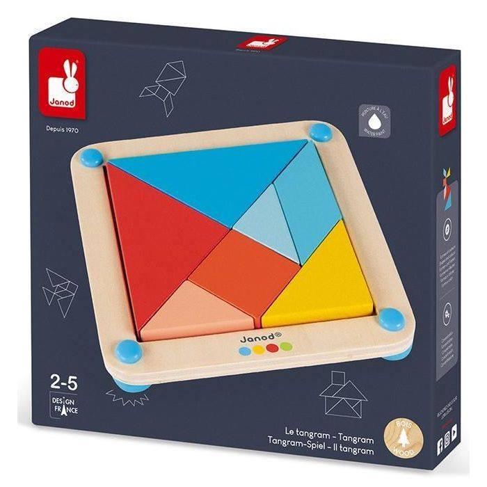 Janod Essentiel Tangram for 2-5 years