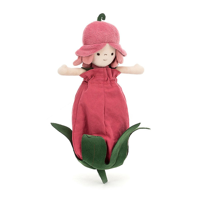 Rosebud Stuffed Fairy Doll