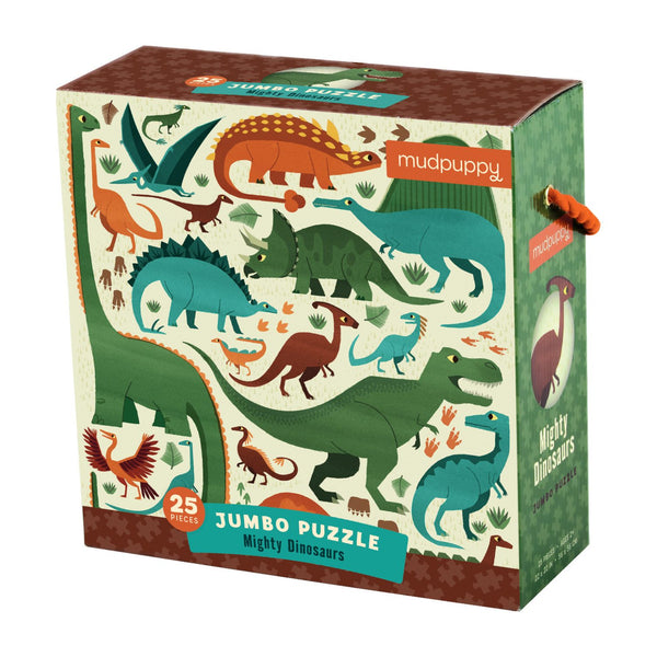 Mighty Dinosaur Chunky Floor Puzzle