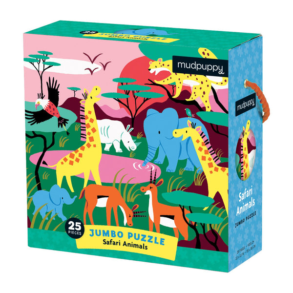 Safari Animals Chunky Floor Puzzle