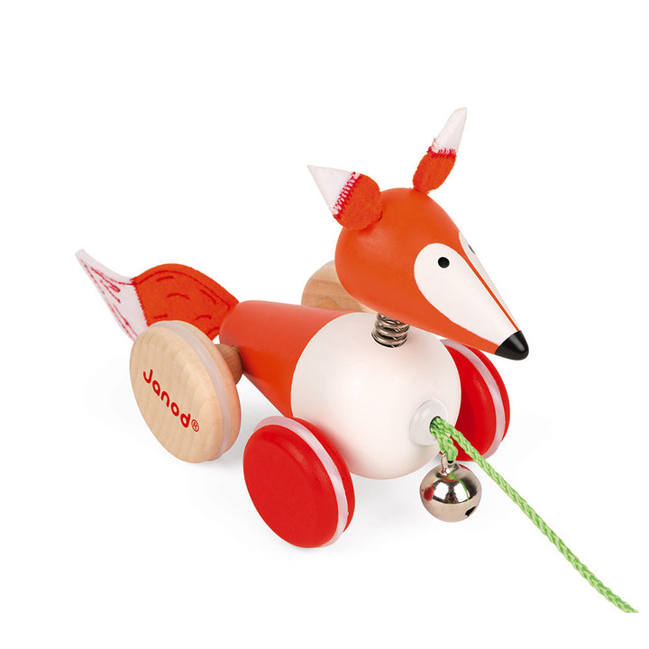 Wooden Fox Pull Along Toy