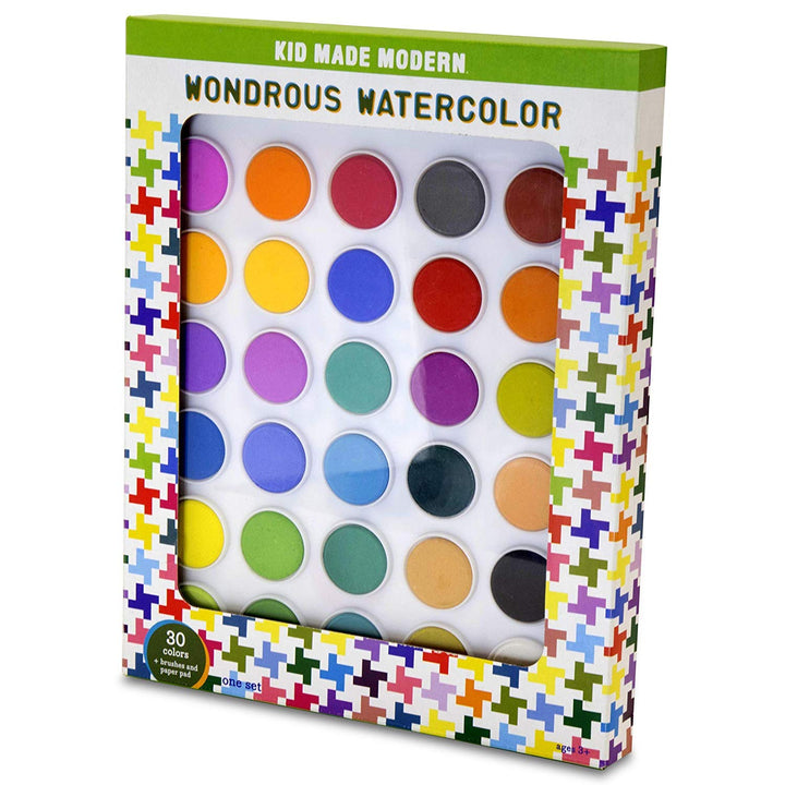 Wondrous Watercolor Kit (30 watercolors)