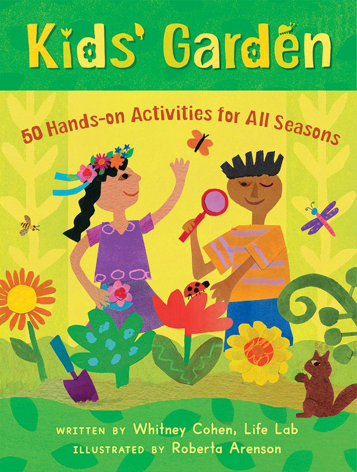 Kids Garden Activity Cards - Ages 6+