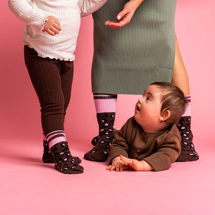 Lillster Leopard Socks for family