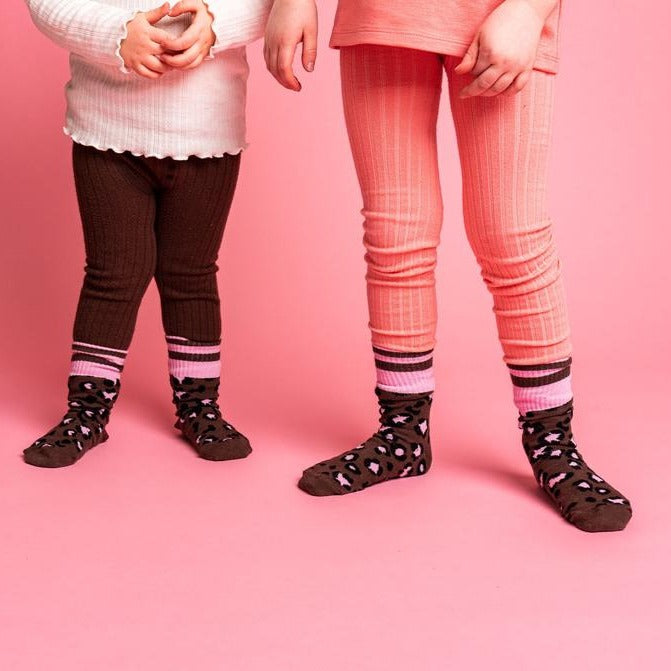 Lillster Leopard Socks for family - Baby & Kid example