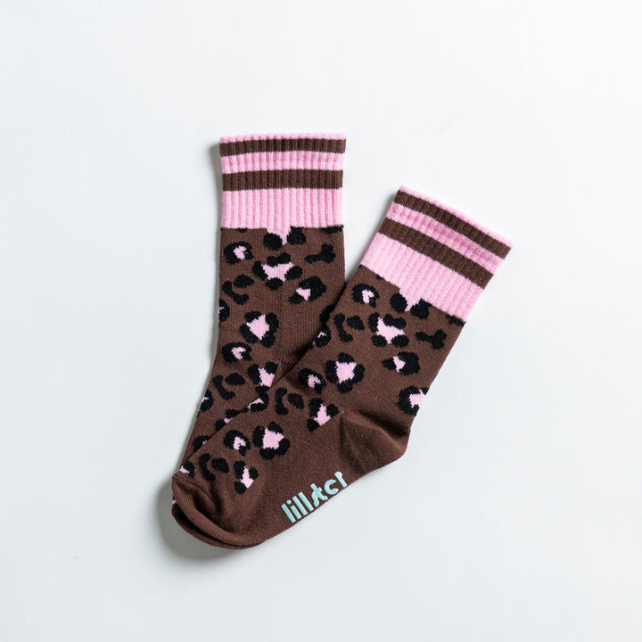 Lillster Leopard Socks for family - Kids size