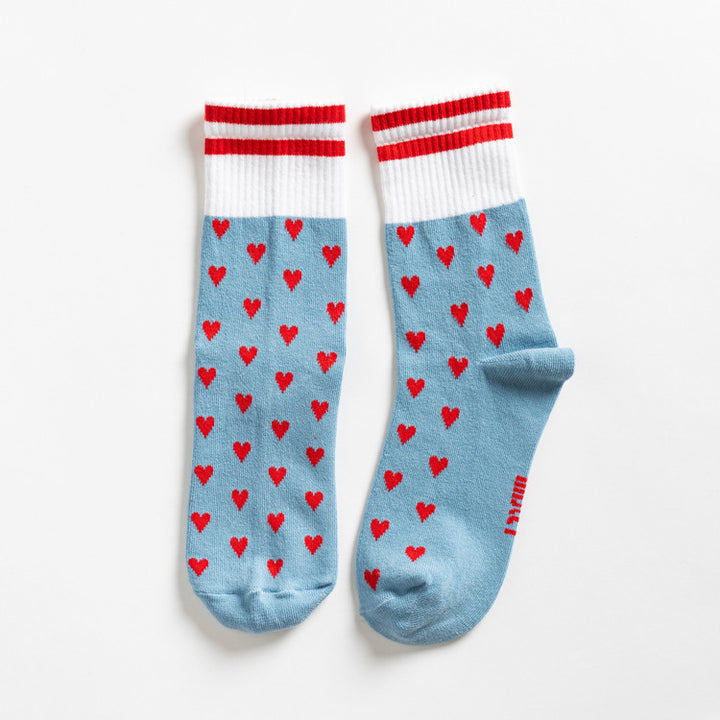 Lillster Red Heart Socks