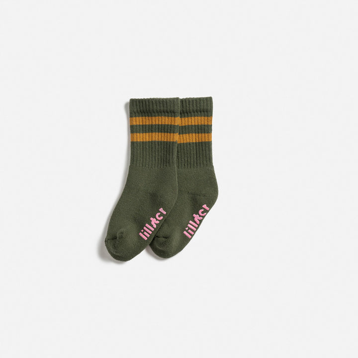 Lillater Salsa Verde Green Socks  - Infant Size
