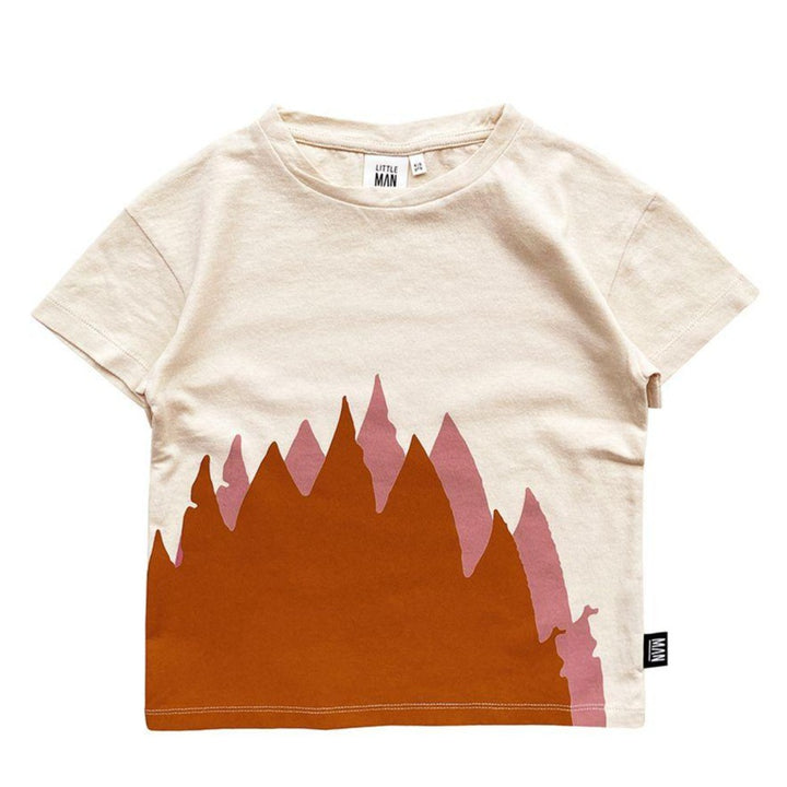 Organic Cotton Flame Tee for Kids