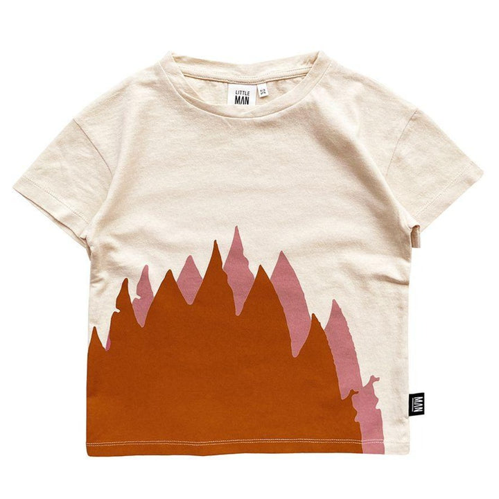 Little Man Happy Infant Flame Tee