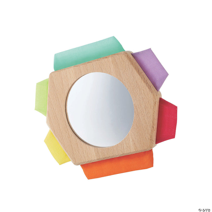 Infant Play Mirror and Texture Toy
