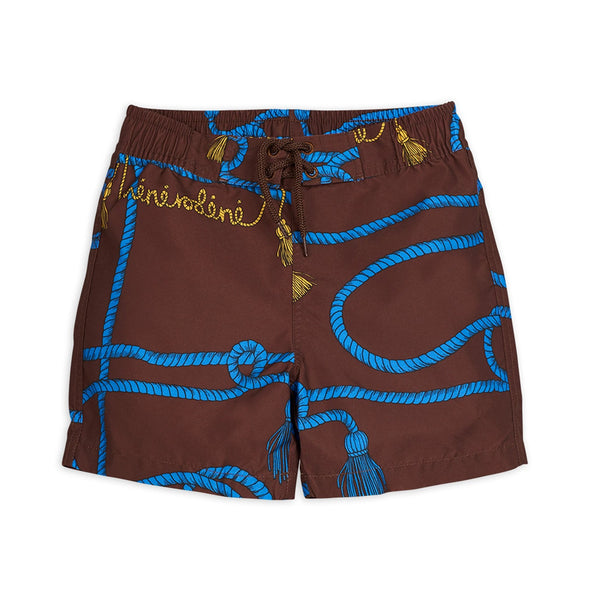 Mini Rodini Rope Swimsuit for boys - front