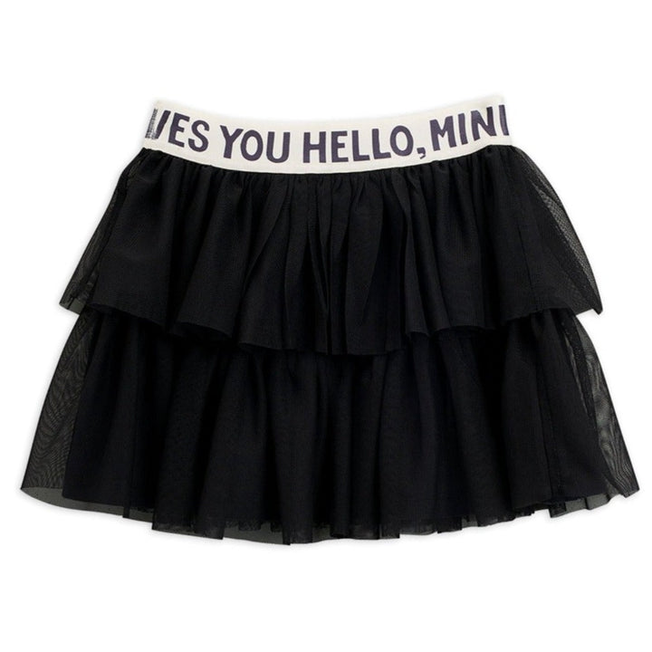 Mini Rodini Tulle Skirt (black)