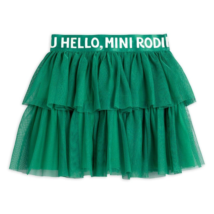 Mini Rodini Tulle Skirt (green)