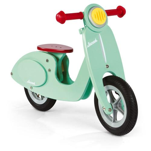 side view of scooter