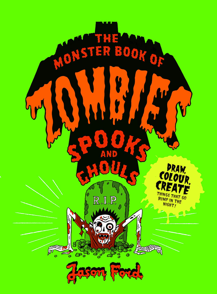 Monster Book of Zombies and Ghouls Activity Book