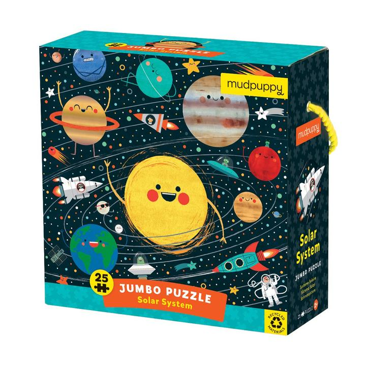 Toddler Jumbo 25 Piece Solar System Puzzle
