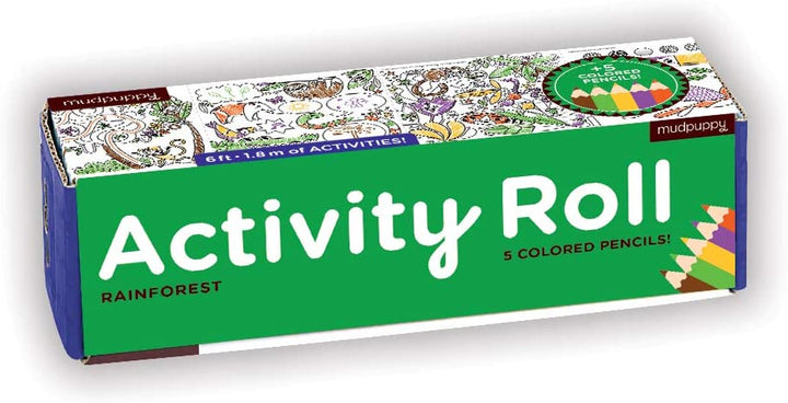 Rainforest Activity Roll for Kids