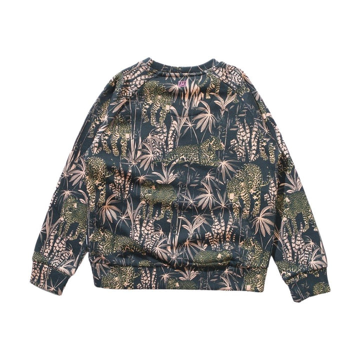 Munster Jungle Print Sweatshirt  - back