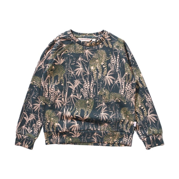 Munster Jungle Print Sweatshirt - front