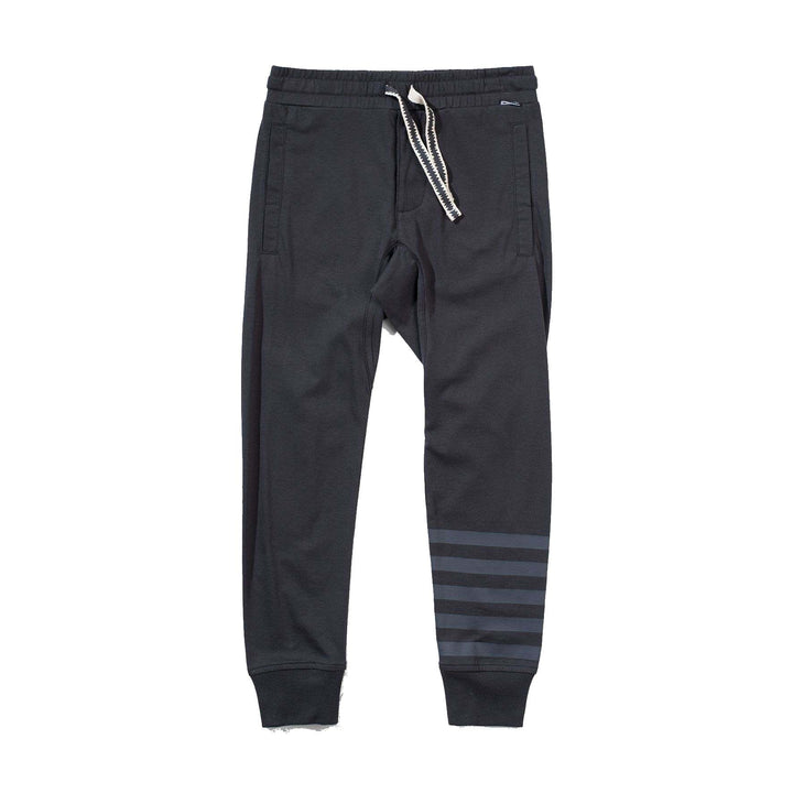 Kids Light Jersey Black Sweatpants - front