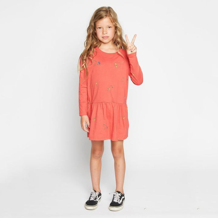 Missie Munster Copy Cat Dress (red)