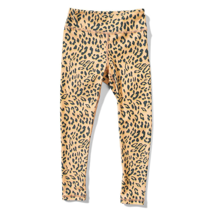 Missie Munster Kids Leopard Legging (yellow)