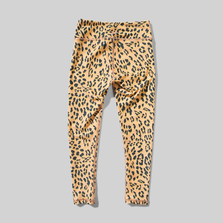 back of full leopard print legging.