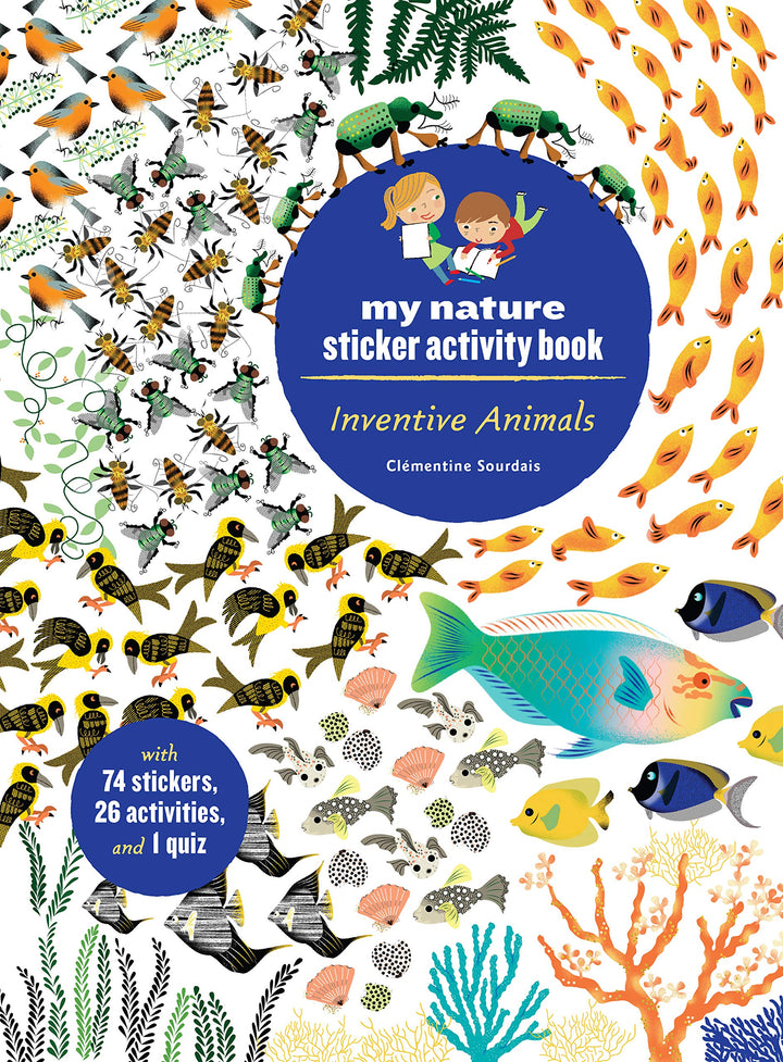 Sticker Activity Book: Nature: Inventive Animals