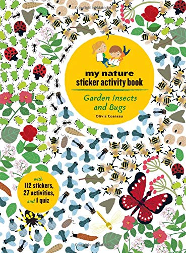 My Nature Sticker Activity Book: Garden Insects and Bugs