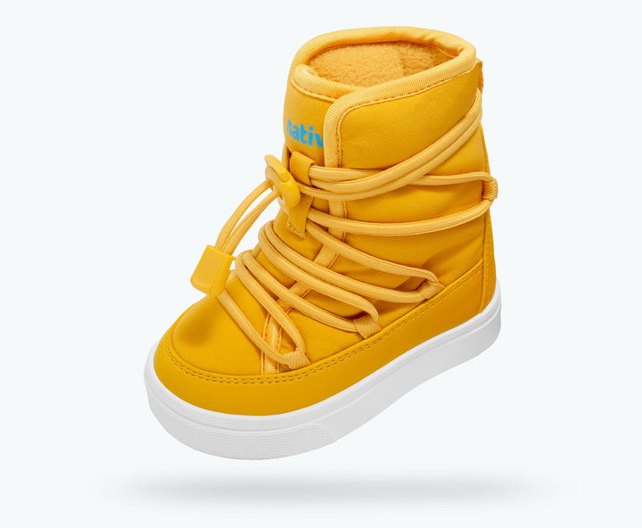Yellow All Weather Childs Boot by Native