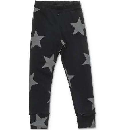 nununu star black leggings