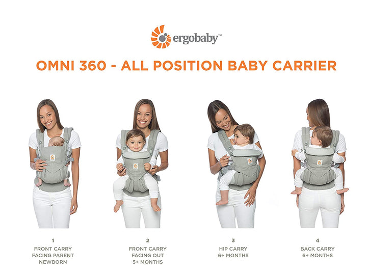 Ergo OMNI 360 Baby Carrier - Positions