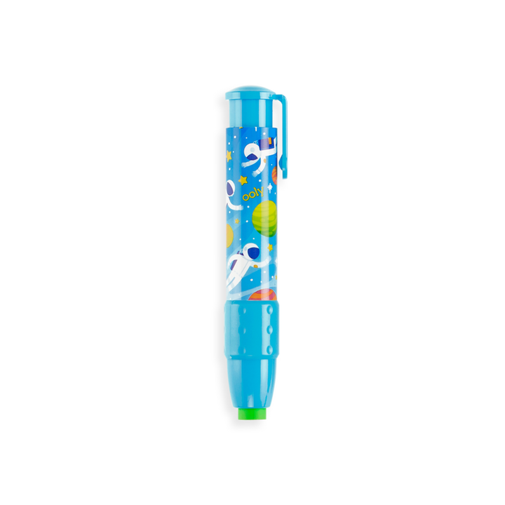 Astronaut Click-It Erasers - Light Blue