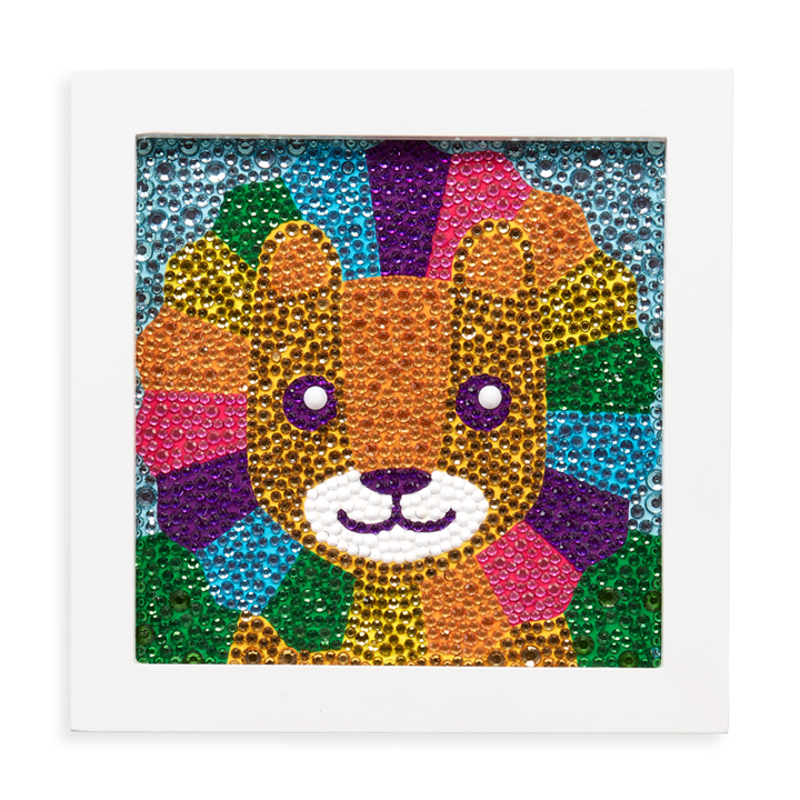 Kids Gem Art Kit - Lil' Lion