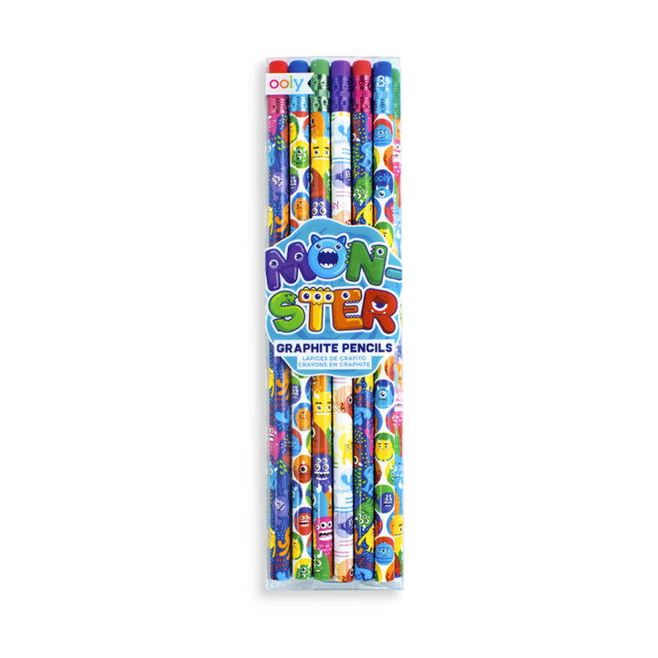 Ooly Monster Graphite Pencil (set of 12)