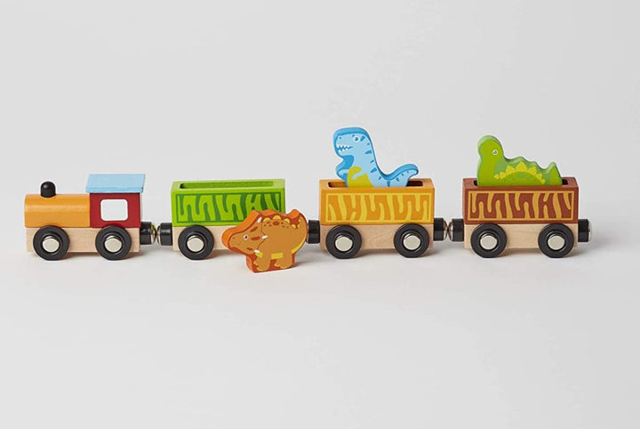 Magnetic Wood Toy Dinosaur Train