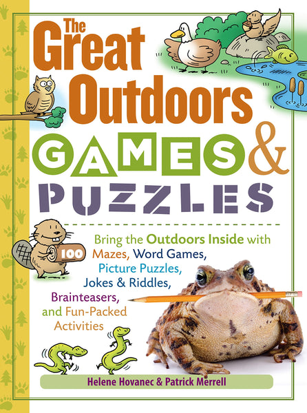 The Great Outdoors Games & Puzzles Activity Book