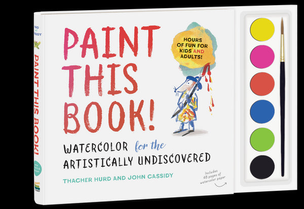 Paint This Book!  Learn to Watercolor!