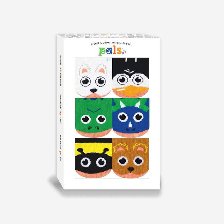 Pals Socks Lil Friendies Infant Gift Box Set (6-12 mo)