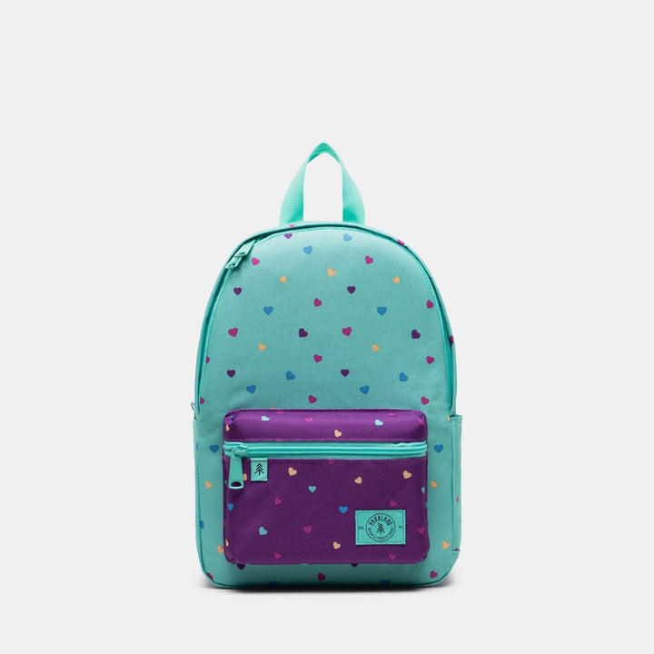 Parkland Recycled Bayside Youth Backpack (candy/hearts)