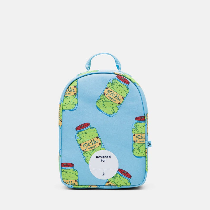 Parkland lunch box pickle design - back with name label