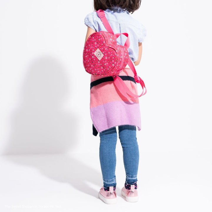 Parkland Heart Shaped Backpack (Rainbows)