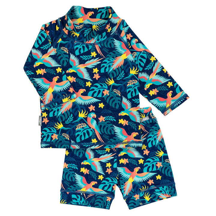 Kids UPF 50 2 Piece Rash Guard Swim Outfit
